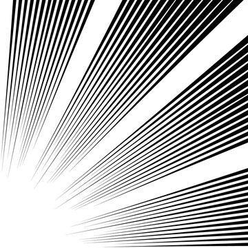 Pop art burst stripes line background powerful. Vector black pattern sunburst star, vintage starburst sunbeam, superhero burst illustration