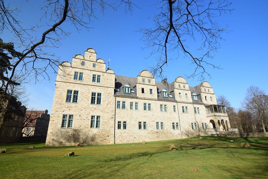 Schloss Stadthagen im Stil der Weserrenaissance