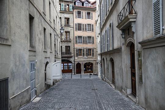 Streets of Geneva, Geneva Architechture, Switzerland
