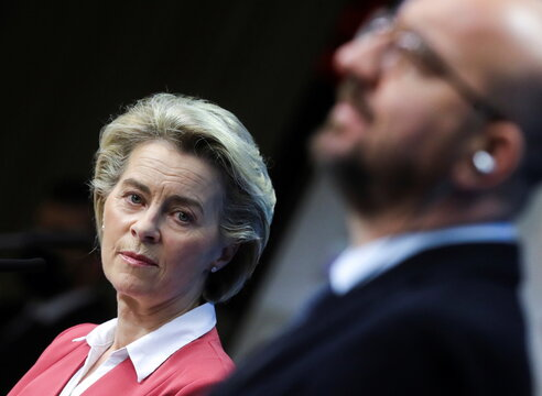 EU leaders meet on COVID-19 measures, weigh vaccine travel certificates