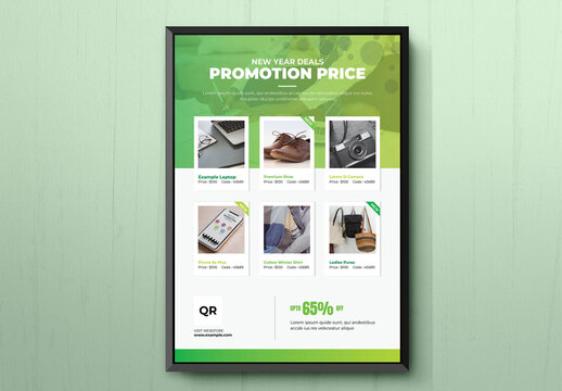 Product Promotional Flyer