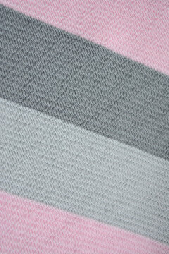 colorful fabric texture ,  geometric pattern, background