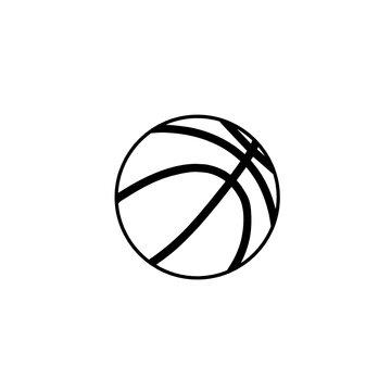 Basketball svg outline