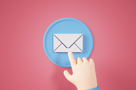 Mail contact button