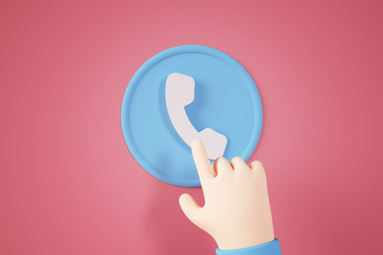 Phone contact button