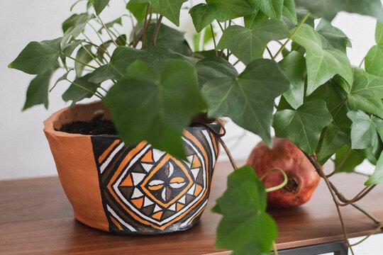 Plante d'intérieur, Céramique