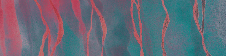 Black Luxury Element. Red Silky Background. Pink