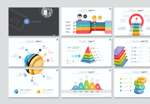 Layer Infographic Presentation Layout