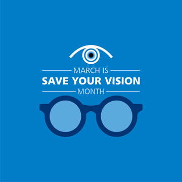 Save your vision month observed in month of March