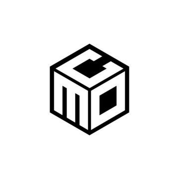MDC letter logo design with white background in illustrator, cube logo, vector logo, modern alphabet font overlap style. calligraphy designs for logo, Poster, Invitation, etc.