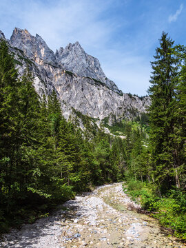 Landschaft im Klausbachtal im Berchtesgadener Land