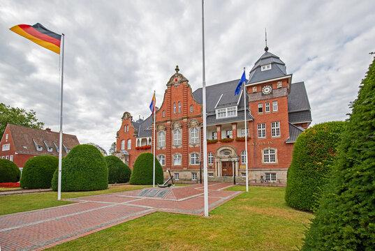 Papenburg Rathaus Innenstadt