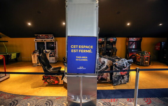 Quebec allows reopening of movie theatres but not the selling of food and drinks, which includes popcorn, in Montreal