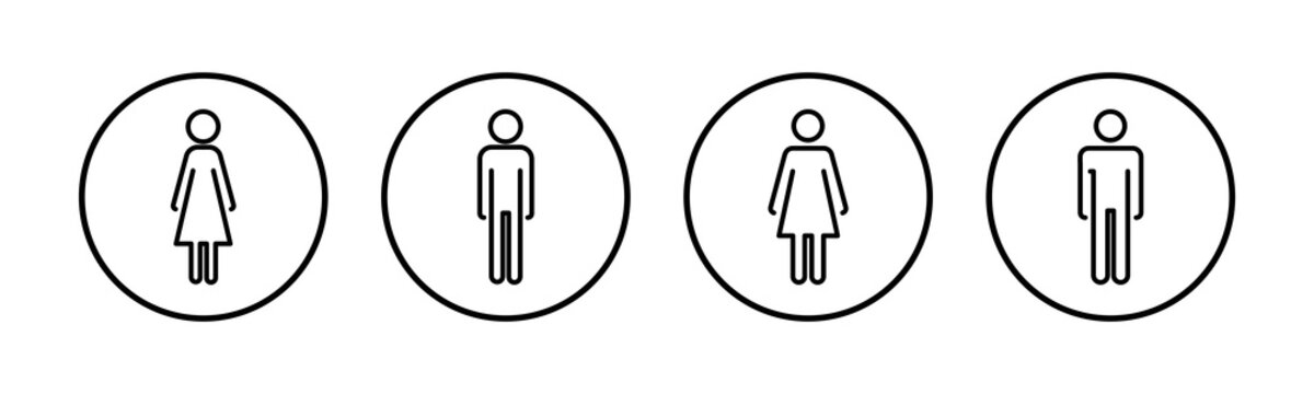 Man icon vector. Toilet sign. Man restroom sign vector. Male icon