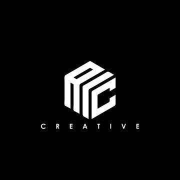 AIC Letter Initial Logo Design Template Vector Illustration