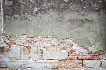 Old wall background. Old european  city
