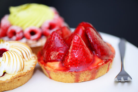 Erdbeer-Tartelette