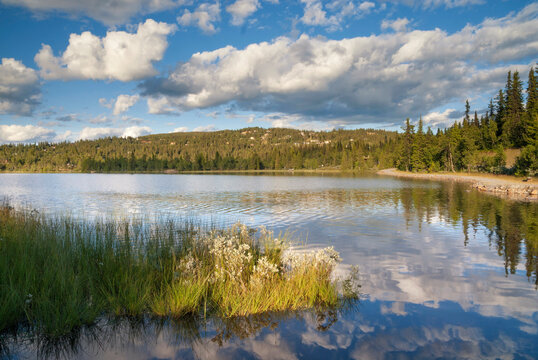 Lake in Valdres