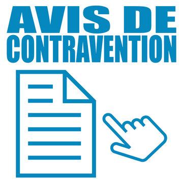 Logo avis de contravention.