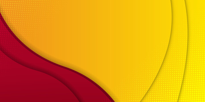 Modern simple red orange yellow abstract 3d background with copy space for business and corporate. Gradient background for wallpaper, banner, background, card, landing page