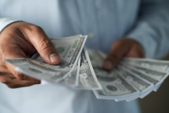 Income and Business  banking inetwork connection United States Dollars and corruption finance profit, bail, crime