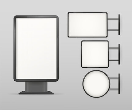 Light box, great design for any purposes. Office interior. Interior mockup. Vector illustration.