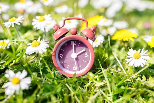 Daylight savings time change, spring forward