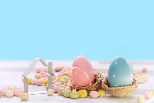 immobilier ,pâques ,oeuf de pâque, projet immobilier, fête de pâques