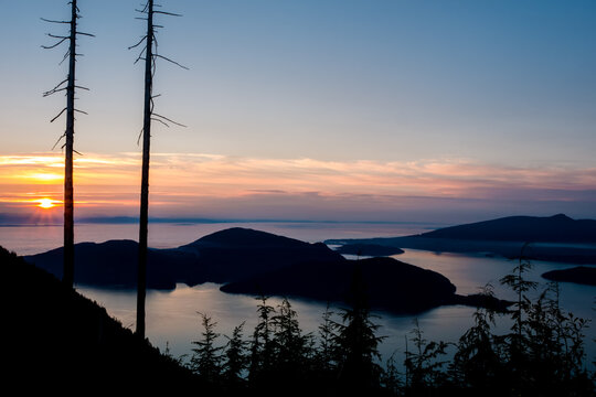 Bowen Island from Bowen Lookout - Vancouver, British Columbia Canada