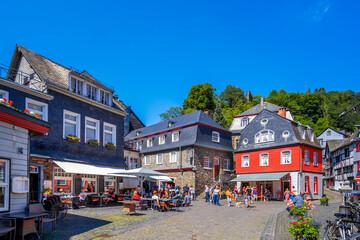 Altstadt, Monschau, Eifel, Deutschland
