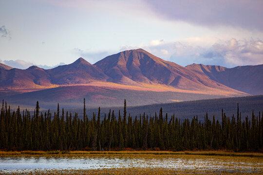 Wrangell Mountains, Alaska, USA.