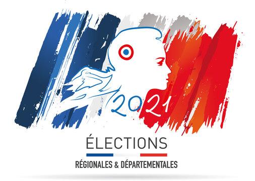 élections régionales et départementales en france en juin 2021