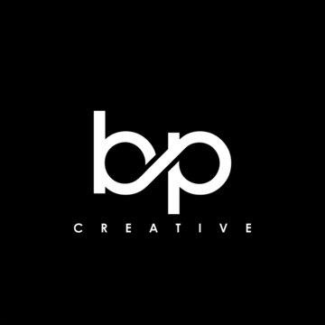 BP Letter Initial Logo Design Template Vector Illustration