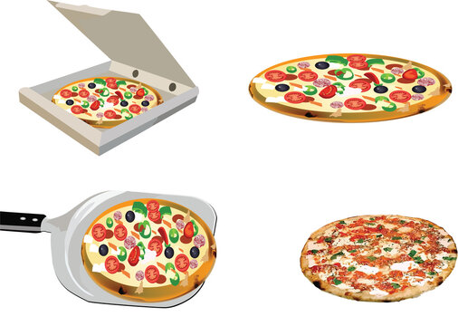 assorted pizzas container assorted pizzas with transport container