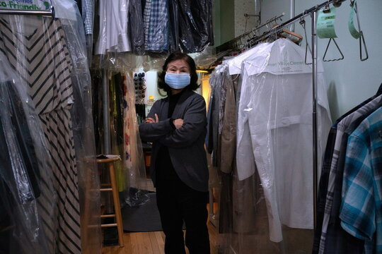 Dry cleaners struggle as work from home continues in Philadelphia