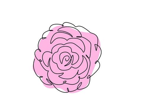 Luna ~ ORIGINAL small Illustration by Camellia Liz A6 size original artwork.