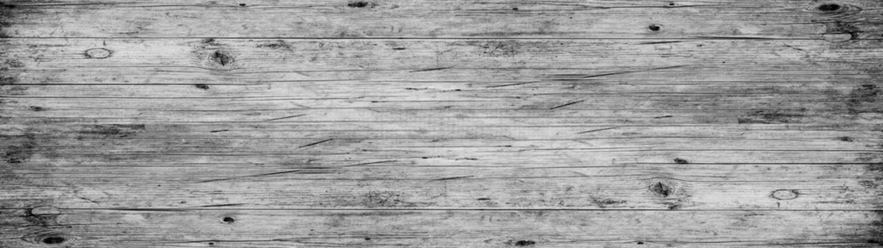 Old white gray grey painted exfoliate rustic bright light wooden texture - wood background banner panorama long shabby