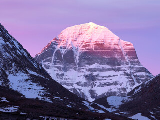 sunrise on Mount Kailash Scenic view, Wall mural