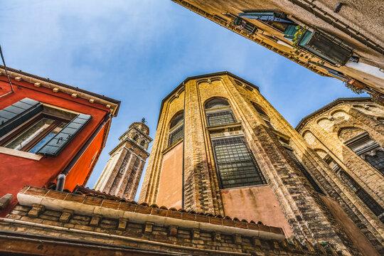Church of San Sebastiano Venice Italy