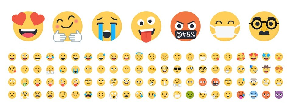 Vector Emojis - Complete Collection