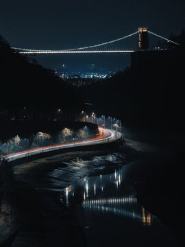 Clifton Suspension bridge views from the Downs