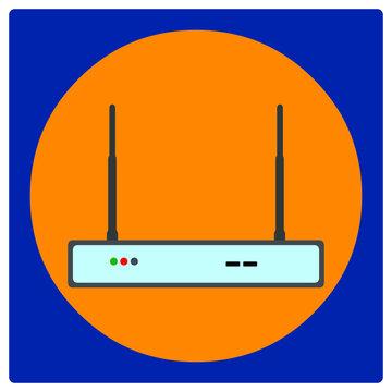 Vector illustration set for WiFi Extender EPS10