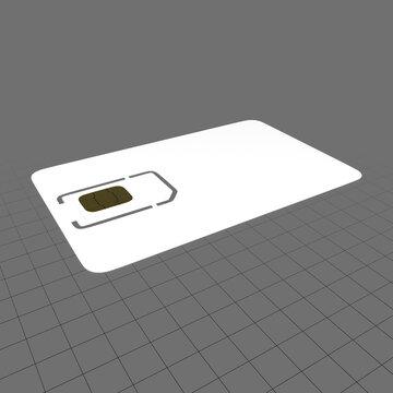Mobile sim card 1