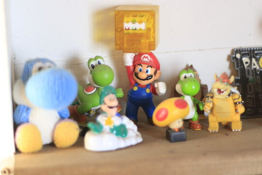 Mario and other figurines