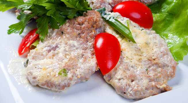 Bulgarian village style marinated pork