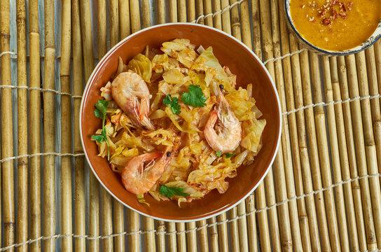 Liberian Cabbage Stew