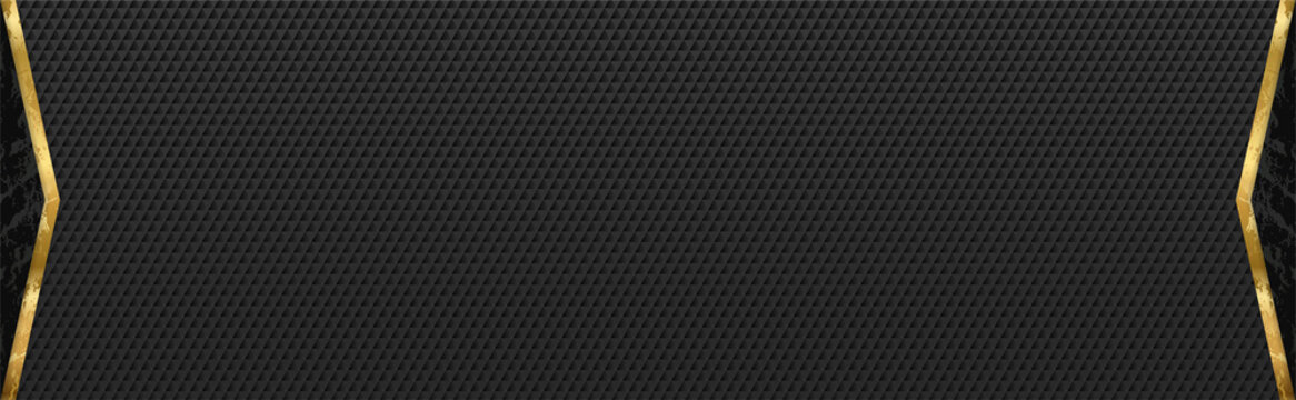 Black abstract background design. Modern horizontal line pattern in monochrome colors. Premium stripe texture for banner, business backdrop