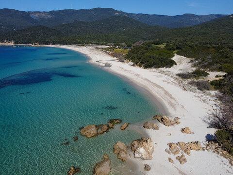 La Baie de Cupabia, en Corse du Sud