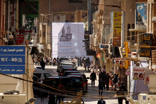 Pope Francis visits the holy city of Najaf