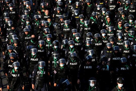 Antigovernment protest in Bangkok